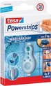 Tesa powerstrips waterproof strips large wit 6 stuks