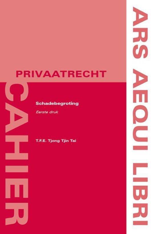 Schadebegroting - T.F.E. Tjong Tjin Tai   Fthsonline.com