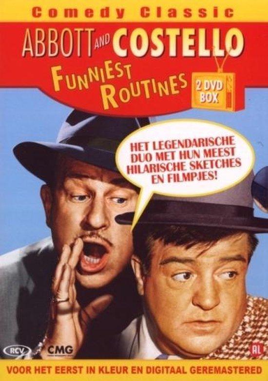 Cover van de film 'Abbott & Costello - Funniest Routines'