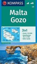 Kompass WK235 Malta en Gozo