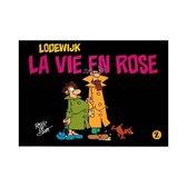 Lodewijk La Vie en Rose  stripboek deel 2 door Peter de Smet
