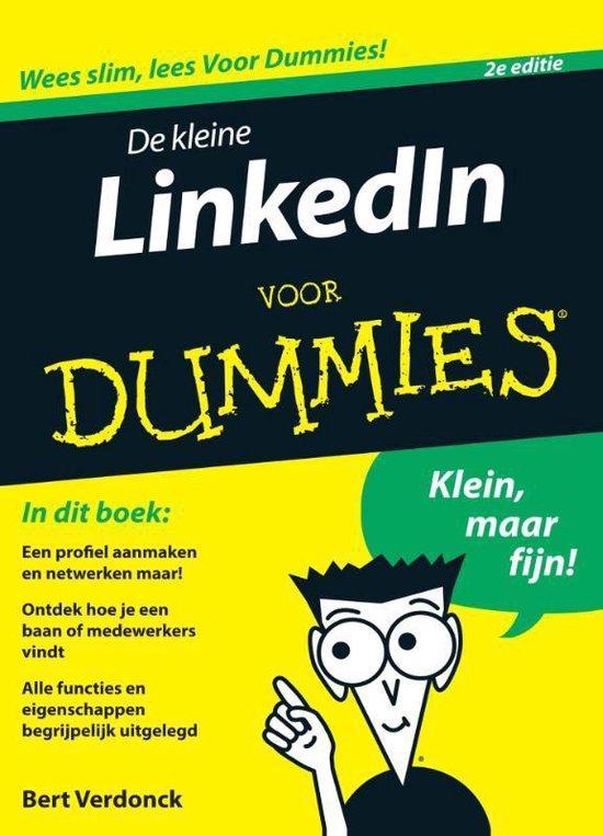 Voor Dummies - De kleine LinkedIn voor Dummies, 2e editie - Bert Verdonck pdf epub