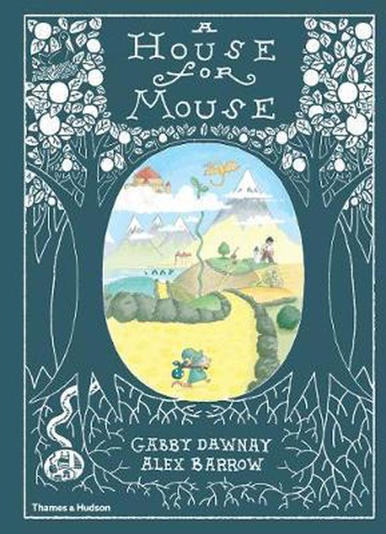 Boek cover A House for Mouse van Gabby  Dawnay (Hardcover)