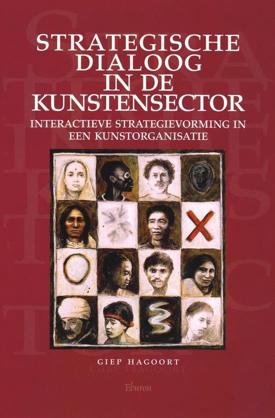 Cover van het boek 'Strategische dialoog in de kunstensector'