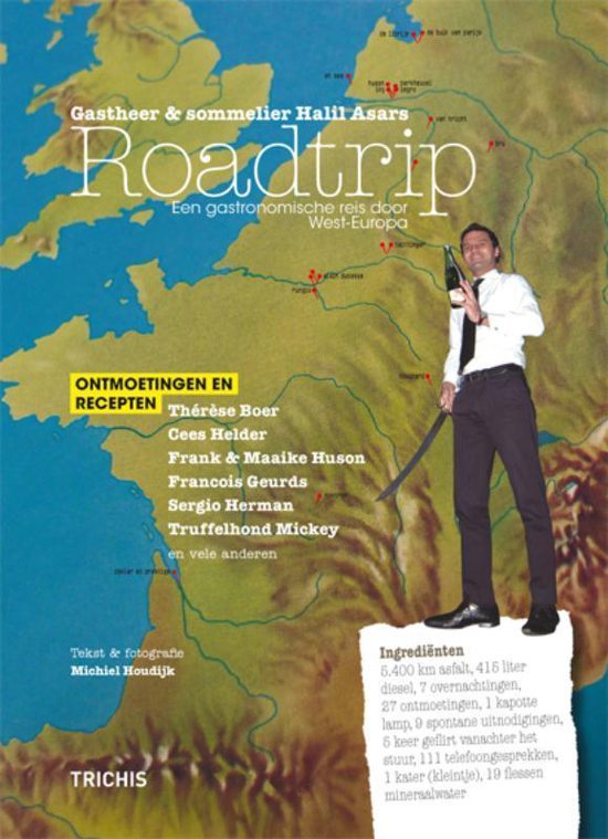Gastheer & sommelier Halil Asars Roadtrip - Michiel Houdijk |