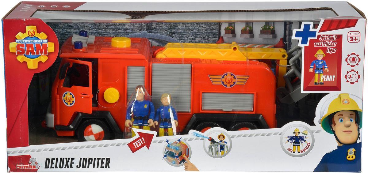 Brandweerman Sam Brandweer Deluxe Jupiter Voertuig