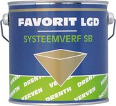 Favorit LGD Systeemverf SB 2,5 liter op kleur