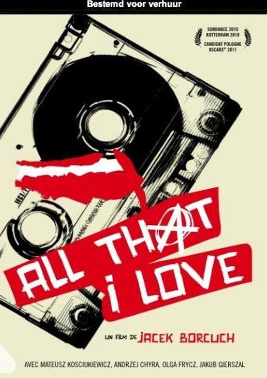 Cover van de film 'All That I Love'