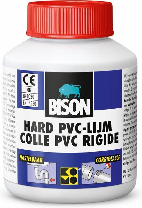 Bison Hard PVC Lijm - 100 ml