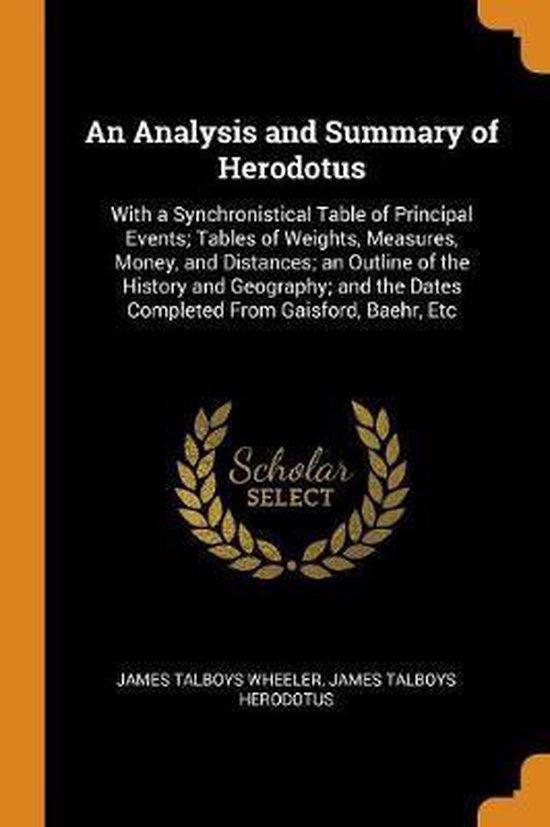 An Analysis and Summary of Herodotus