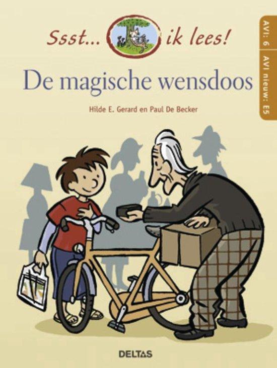Cover van het boek 'De magische wensdoos' van Moniek Vermeulen
