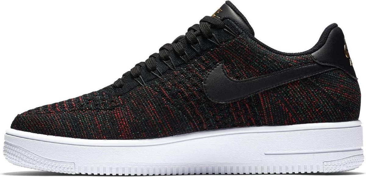 Nike Air Force 1 Ultra Flyknit Low - Sneakers - Unisex - 817419-005 - Maat  38,5 - Zwart