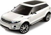 Modelauto Land Rover LRX wit 1:43 - speelgoedauto