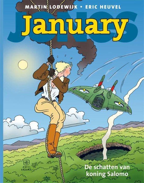 January jones hc03. de schatten van koning salomo - Martin Lodewijk  
