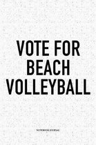 Vote for Beach Volleyball