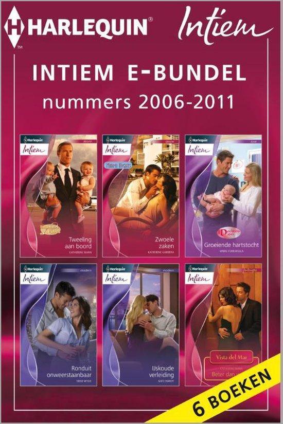 Cover van het boek 'Intiem e-bundel nummers 2006 - 2011, 6-in-1' van Catherine Mann
