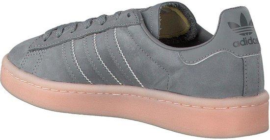 adidas CAMPUS W BY9838 - schoenen-sneakers - Vrouwen - grijs/roze - maat  36.5