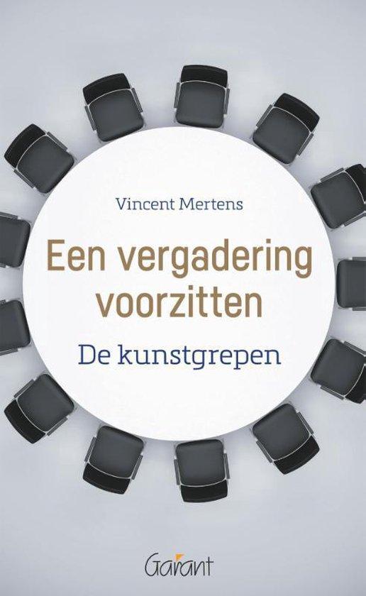 Een vergadering voorzitten. De kunstgrepen - Vincent Mertens |