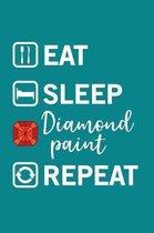 Eat, Sleep, Diamond Paint, Repeat