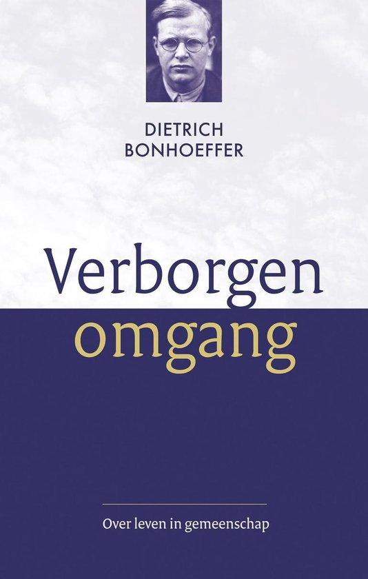 Verborgen omgang - Dietrich Bonhoeffer pdf epub