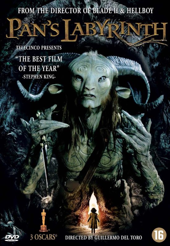Cover van de film 'Pan's Labyrinth'