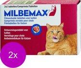Elanco Milbemax Kat 2 Tot 12kg - Anti wormenmiddel - 2 x Rund 4 tab 2 Tot 12 Kg