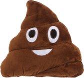 Drol - Kussen - Knuffel - Poep - Emoji - Poop