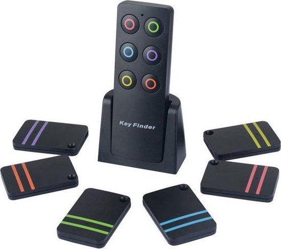 Sitcon | Keyfinder set met 6 sleutelzoekers en locator