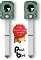 PestBye™ - Set van 2 Kattenverjagers op Batterijen