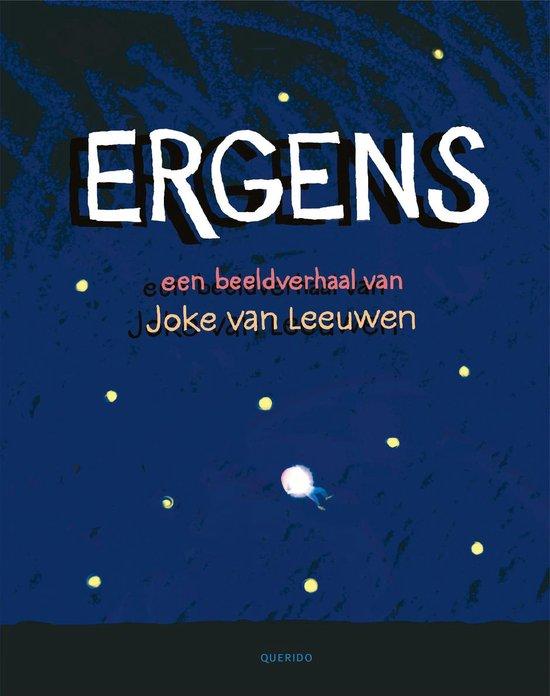 Boek cover Ergens van Joke van Leeuwen (Hardcover)