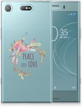 Sony Xperia XZ1 Compact Uniek TPU Hoesje Boho Text