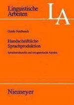 Handschriftliche Sprachproduktion