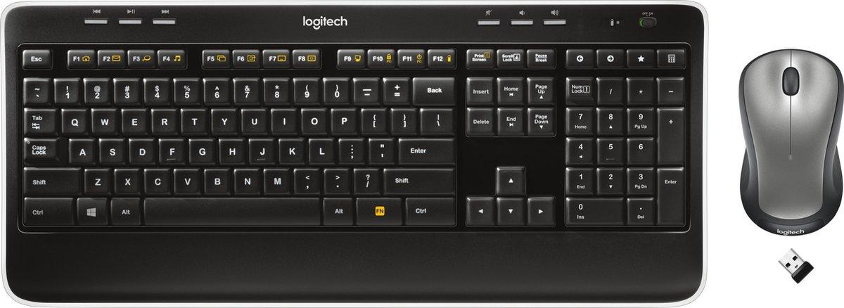 Logitech MK520 Advanced Draadloos Toetsenbord en Muis Qwerty