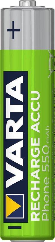 Varta Phone Rechargeable NimH AAA/HR03 550mah blister 2 - Varta