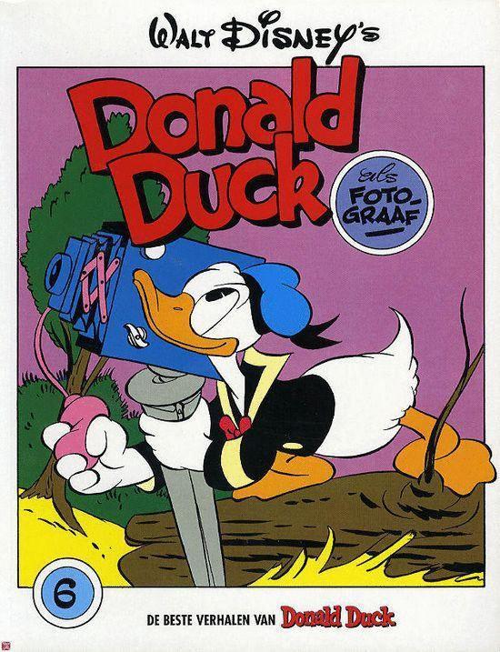Donald Duck als fotograaf - Carl Barks  
