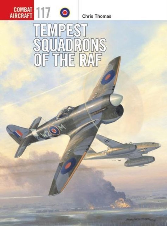 Boek cover Tempest Squadrons of the RAF van Chris Thomas (Paperback)