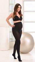 Mamsy Comfortabele Opaque Zwangerschapspanty 60den (Zwart   S)