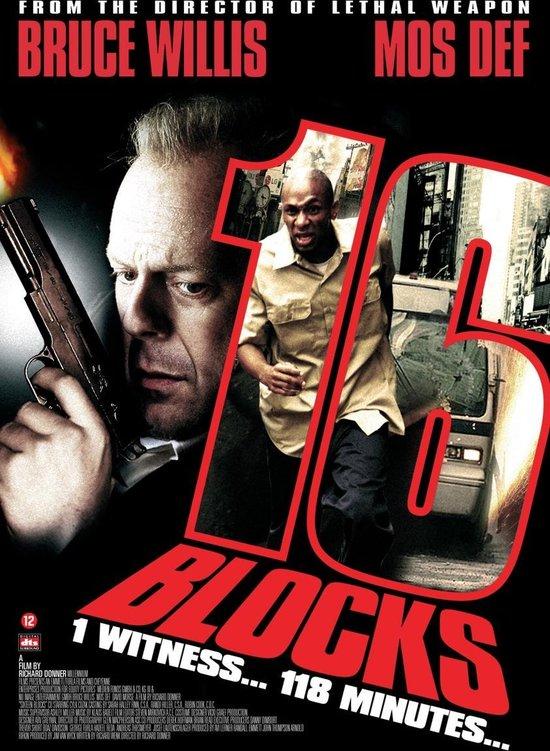 Cover van de film '16 Blocks'