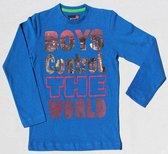 BOYS iN Control Jongen T-shirt - navy - Maat 104