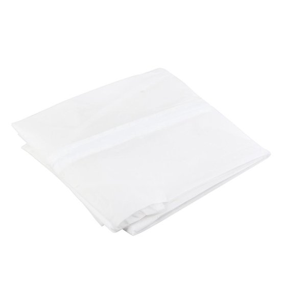 2X Kledinghoes Semi-Transparant L - Opberghoes / Koffer Hoes Voor Kleding / Pak - Kostuumhoes - AA Commerce