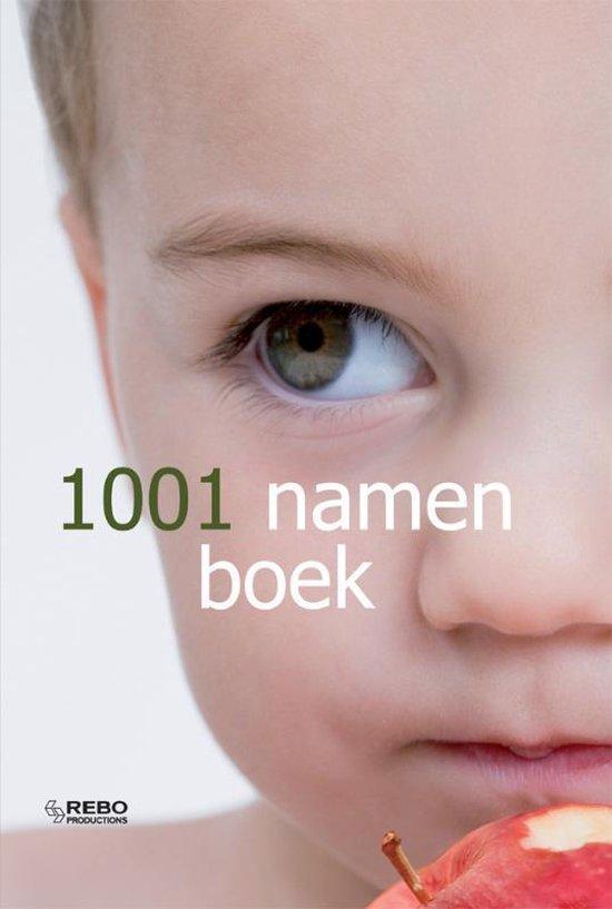 Cover van het boek '1001 Namenboek' van  Onbekend