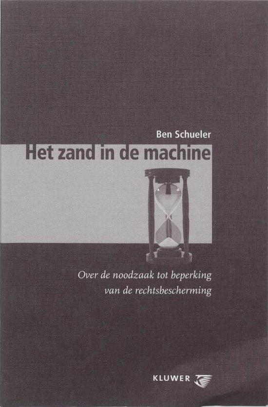Het zand in de machine - B.J. Schueler |