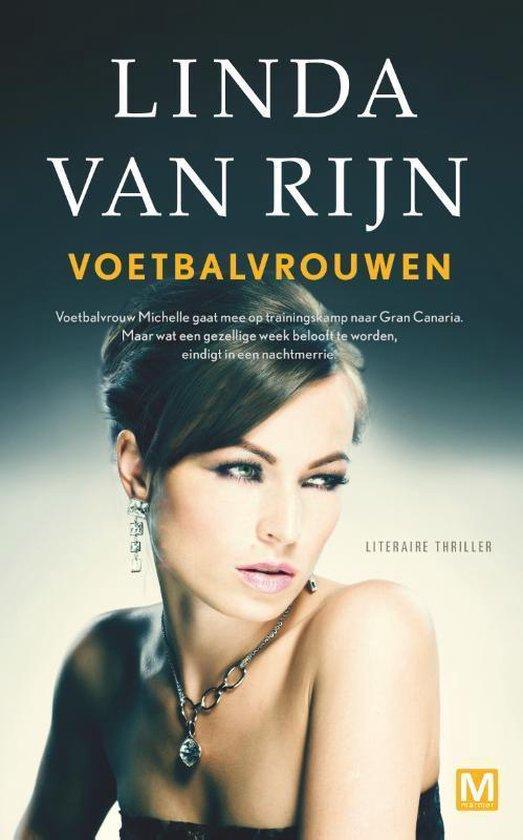 Boek cover Voetbalvrouwen van Linda van Rijn (Paperback)
