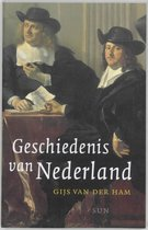 Boek cover Geschiedenis van Nederland van Gijs van der Ham