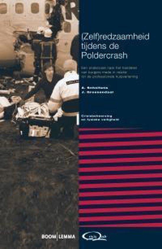 Cover van het boek '(Zel)redzaamheid tijdens de Poldercrash' van Anneke Scholtens