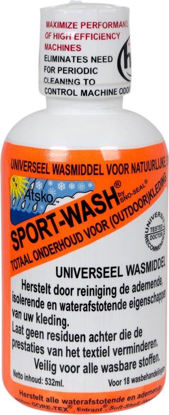 Atsko - Wasmiddel - Sport-Wash - Universeel - 500 ml