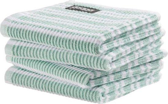 DDDDD vaatdoek Classic Clean pastel green (30 x 30 cm) per 4 stuks
