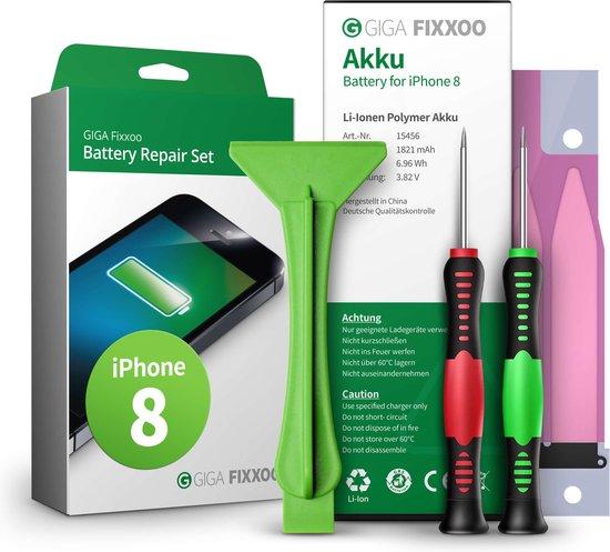 GIGA Fixxoo iPhone 8 accu complete set