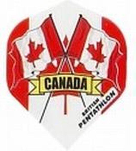 Afbeelding van het spel British Pentathlon flights Canada  Set 3 stuks