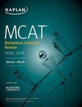 Boek cover MCAT Behavioral Sciences Review 2020-2021 van Kaplan Test Prep